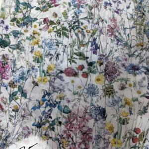 Liberty Tana Lawn Cotton, Wild Flowers (A)
