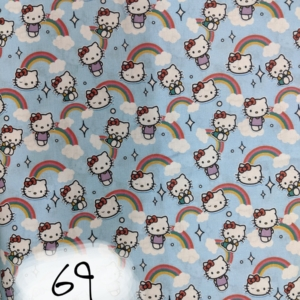 Hello Kitty, Clouds and Rainbows