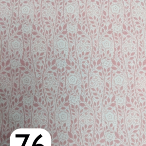 Liberty Lasenby Cotton, The Emporium, Merton Rose, Light Pink (D)