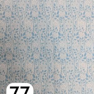 Liberty Lasenby Cotton, The Emporium, Merton Rose, Light Blue (B)