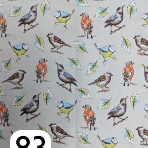 Craft Cotton Co, Garden Birds, Multi Birds